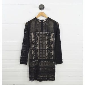 PARKER LACE LONG SLEEVE DRESS #101-44